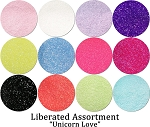 Unicorn Love (12 colors) :Liberated Glitter Assortment