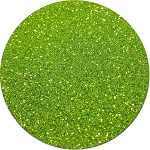 Lime Luster Craft Glitter (fine flake)- 3/4 oz Jar