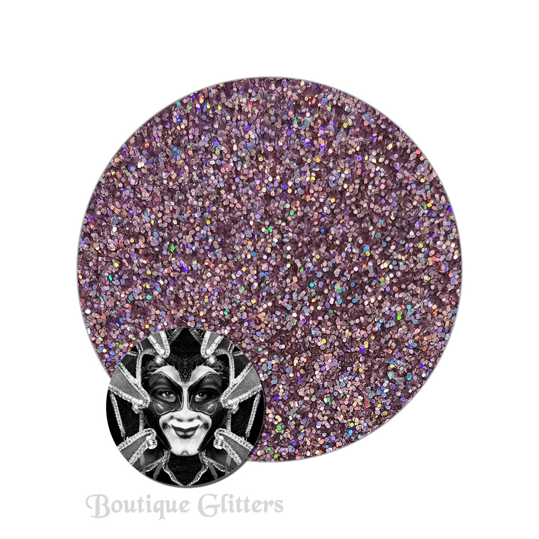 Man Trap Pink :Boutique Cosmetic Eclipse Holographic Glitter (ultra fine)