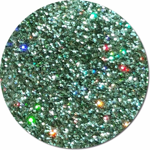 Mint Julip :Fine Glitter Cosmetic Holographic (jar)
