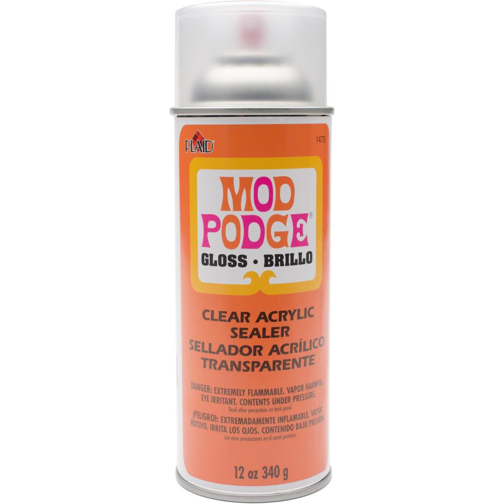 Mod Podge Clear Acrylic Aerosol Sealer