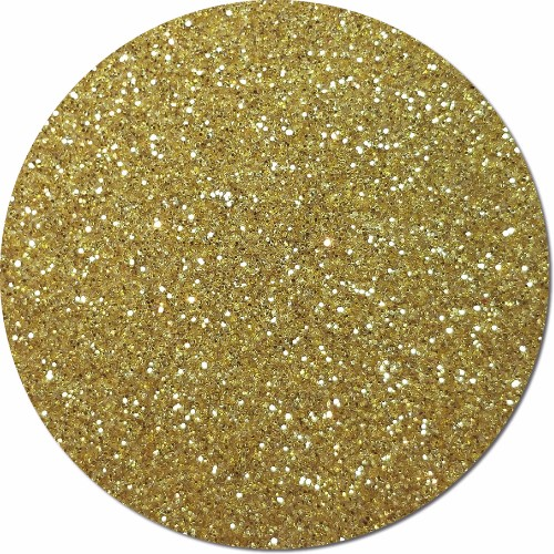 Morning Gold Craft Glitter (fine flake)- 3/4 oz Jar