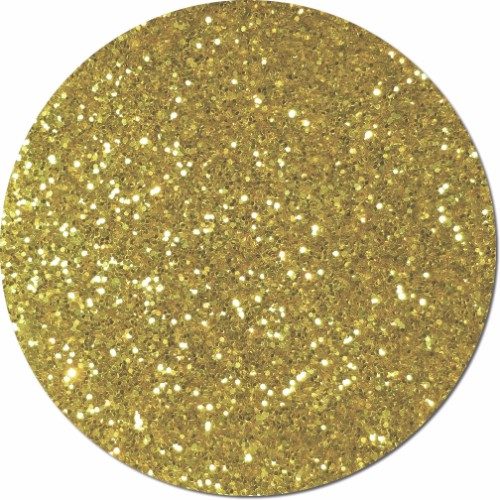 Morning Gold Craft Glitter (chunky flake)- 8 oz. Jar
