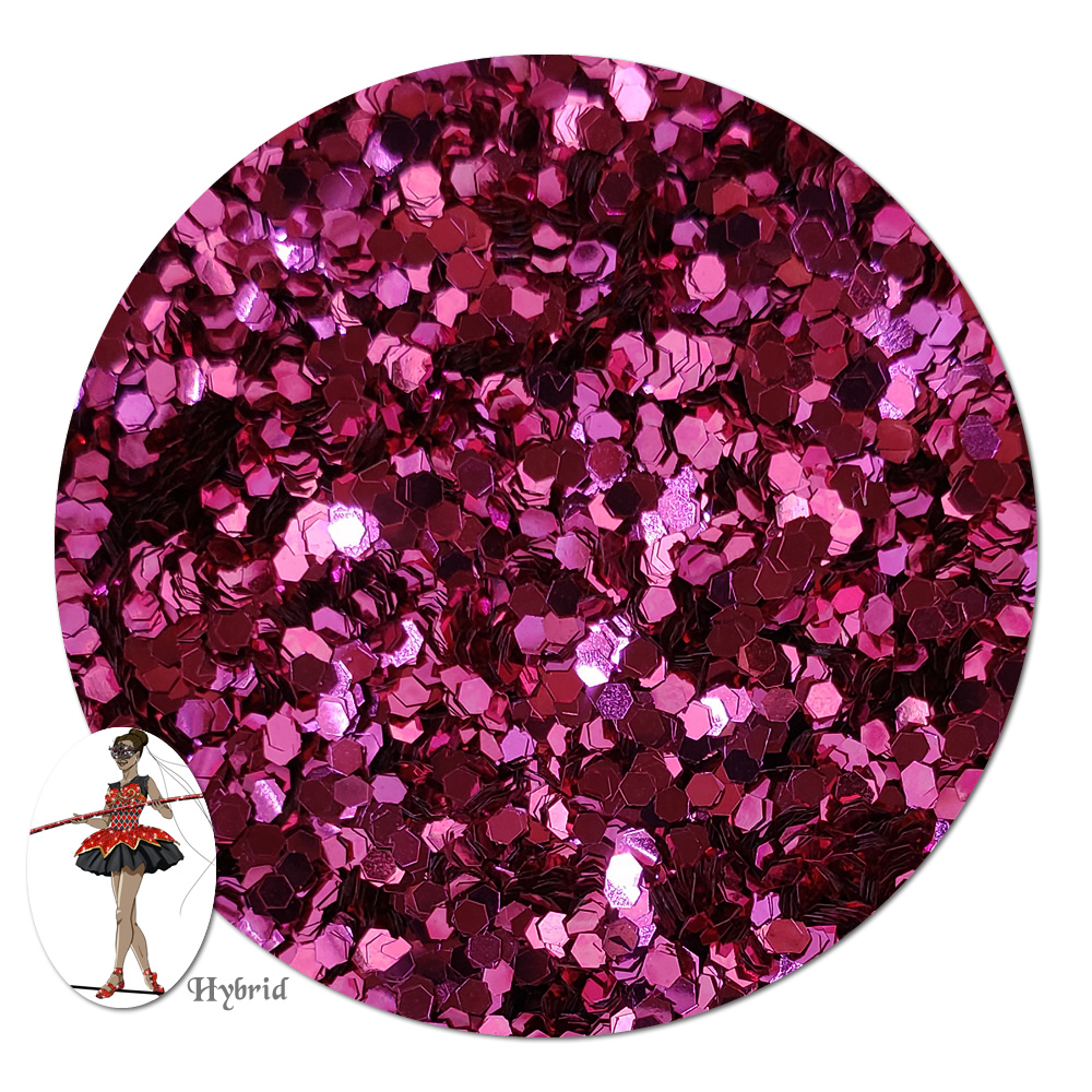 Mountain Rose Metallic Hybrid Glitter (chunky)- 3/4 oz Jar