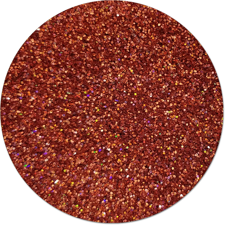 Odyssey Orange :Ultra Fine Glitter Holographic (Mini)