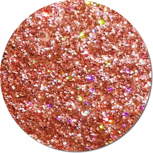 Orbit Orange :Fine Glitter Cosmetic Holographic (jar)