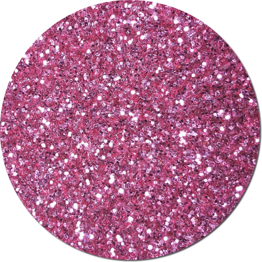 NEW Perfect Pink Craft Glitter (chunky flake)- 8 oz. Jar