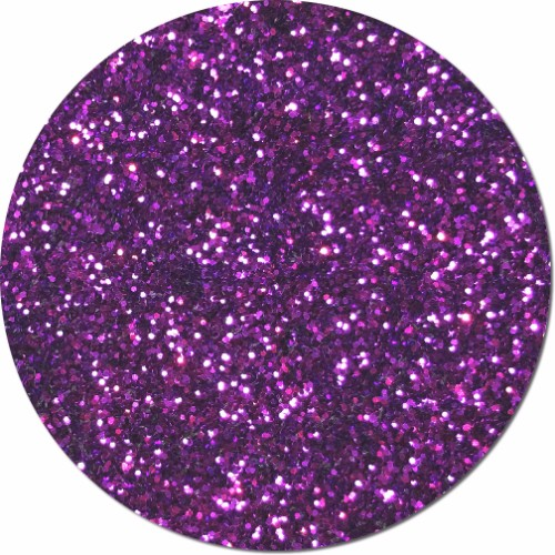 Princess Purple Craft Glitter (chunky flake)- 3/4 oz Jar