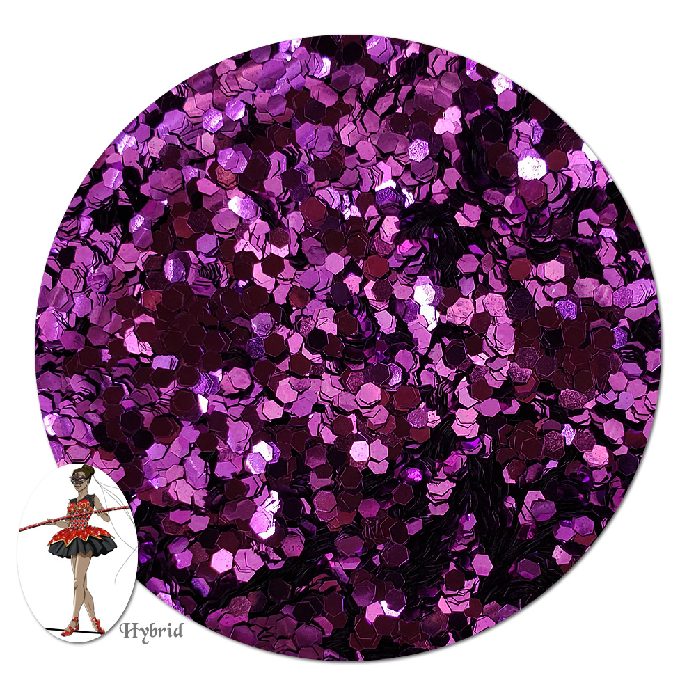 Purple Heart Metallic Hybrid Glitter (chunky)- By The Pound