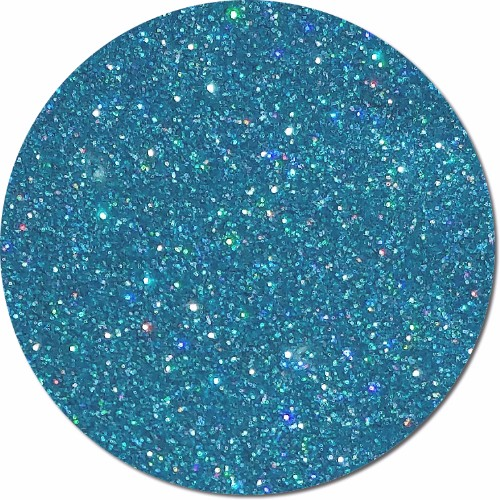 Quasar Blue :Polyester Glitter Holographic (boxed)