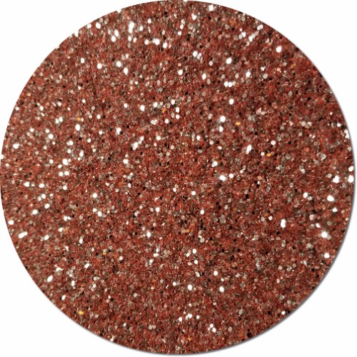 A Rose Gold Craft Glitter (chunky flake)- 4 oz. Jar
