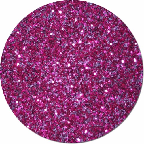 Rose Sparkler Craft Glitter (chunky flake)- 8 oz. Jar