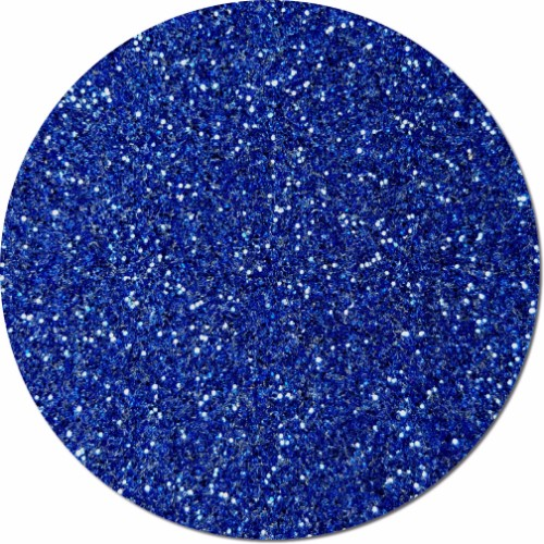 Royal Blue Streak Craft Glitter (fine flake)- 3/4 oz Jar