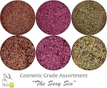 The Sexy Six: COSMETIC Mia Familia Glitter Asst (6 colors for skin)