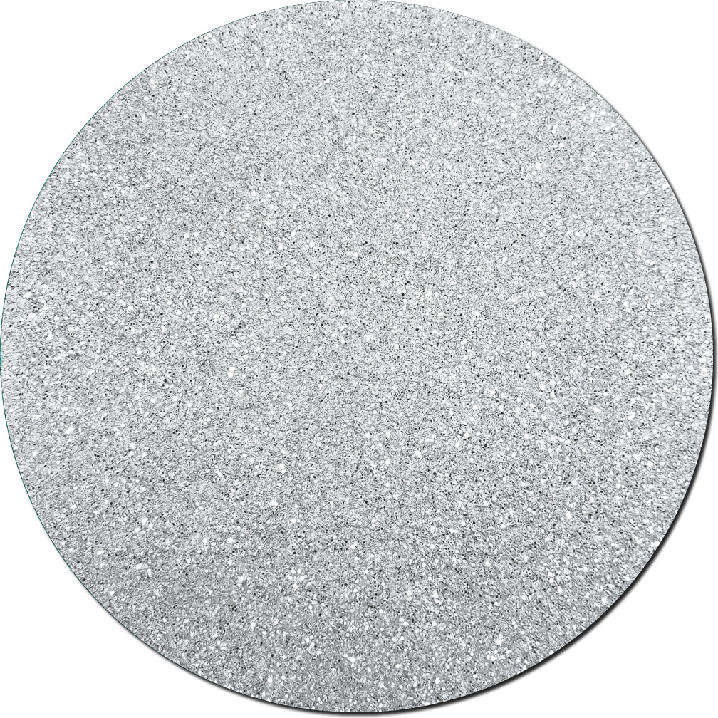 Silver Moonlight Craft Glitter (fine flake)- 3/4 oz Jar