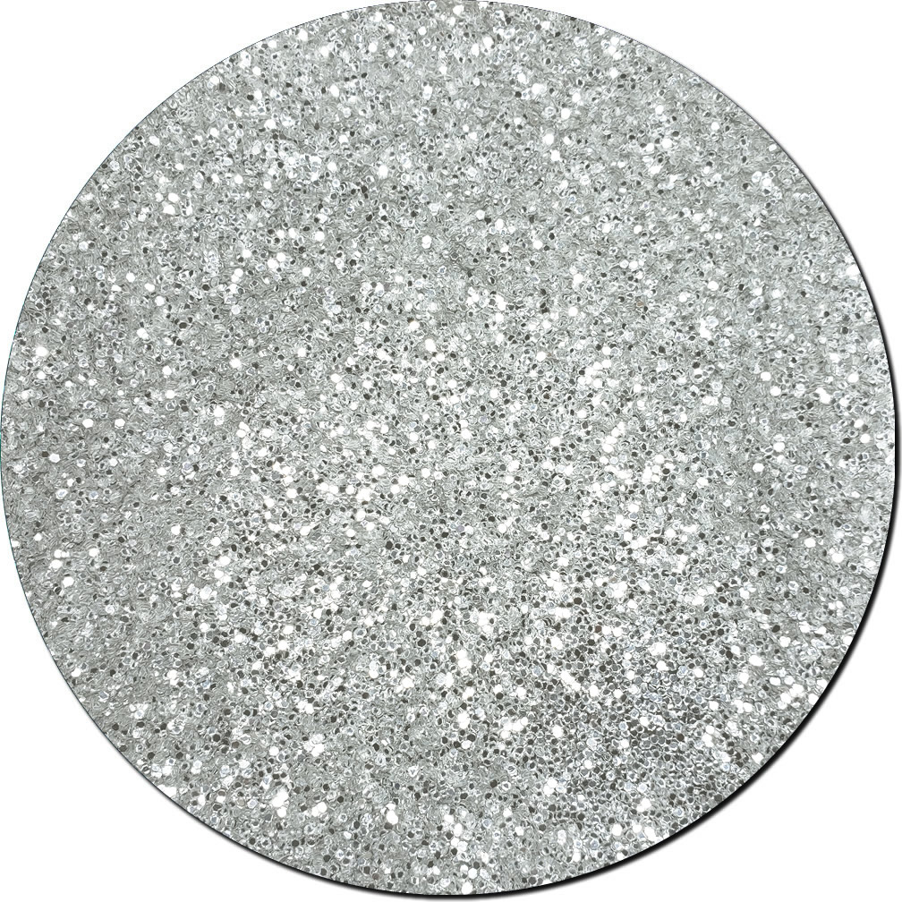 Silver Moonlight Craft Glitter (chunky flake)- 10lb Boxed