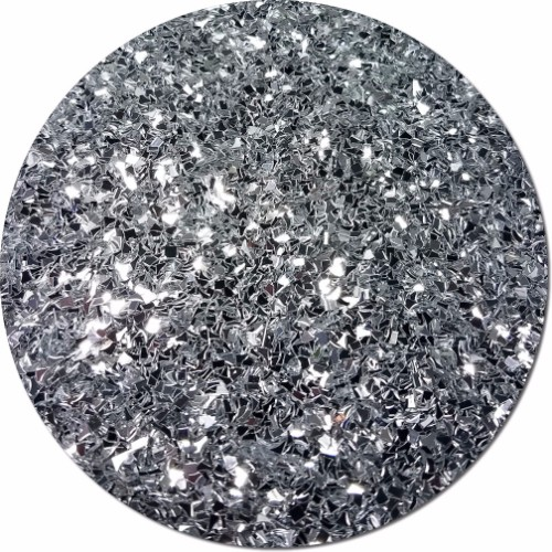 Silvery Moonlight 10lb Box :Glitter Fragments
