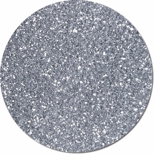 Slinky Silver :Ultra Fine Glitter Cosmetic Metallic (Mini)