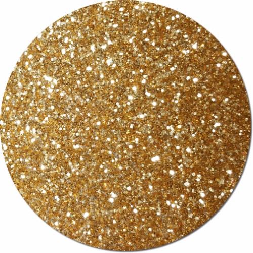 Spanish Gold Craft Glitter (chunky flake)- 8 oz. Jar