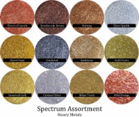 Heavy Metals (12 colors) :Spectrum Glitter Mix