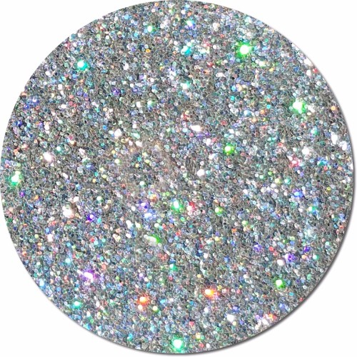 Star Struck Silver :Polyester Glitter Cosmetic Holographic (boxed)