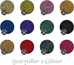 Ye' Old Storytellers 2 (12 colors): Cosmetic Metallic Glitters