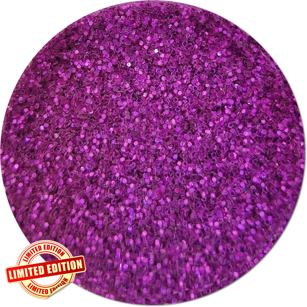 Summer Rose Craft Glitter (fine flake)- 3/4 oz Jar