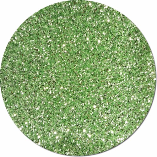 Tiana's Green Wish Craft Glitter (chunky flake)- 3/4 oz Jar