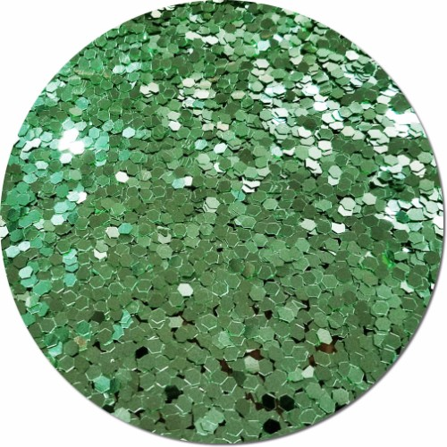 Tiana's Green Wish Craft Glitter (colossal flake)- By The Pound