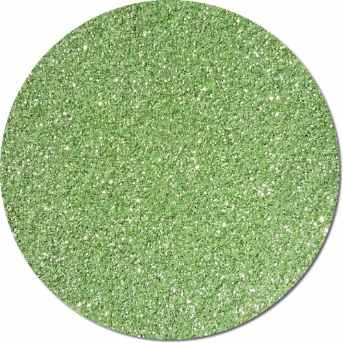 Tiana's Green Wish Craft Glitter (fine flake)- 8oz. Jar