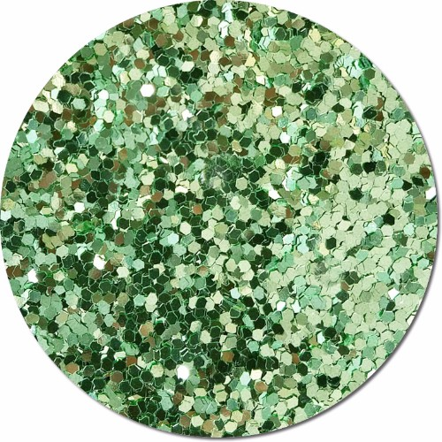 Tiana's Green Wish Craft Glitter (jumbo flake)- 3/4 oz Jar