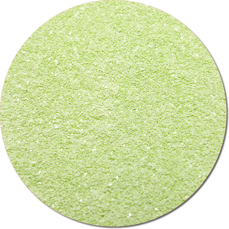 Toni's Apple Green :Polyester Glitter Cosmetic Prism (jar)
