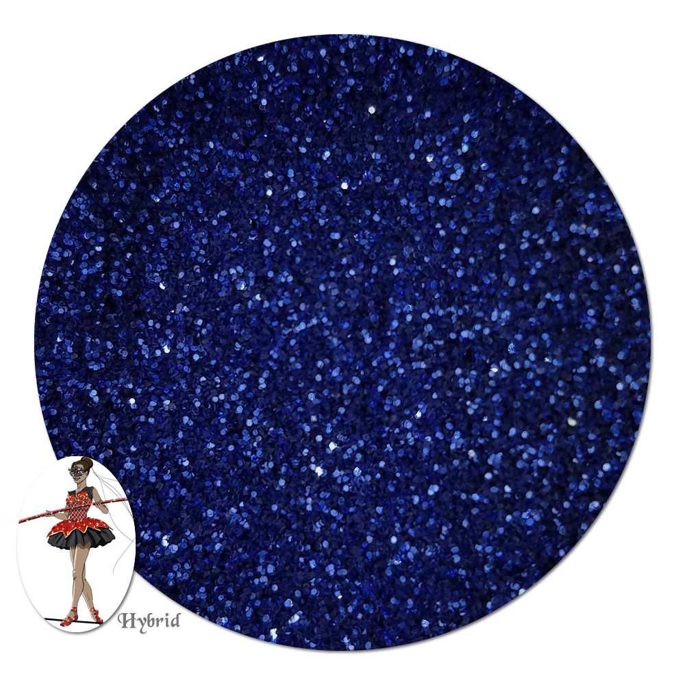 Blue Whisper Metallic Hybrid Glitter (ultra fine)- 3/4 oz Jar