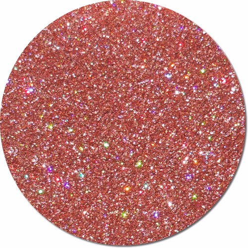 Orbit Orange :Ultra Fine Glitter Cosmetic Holographic (jar)