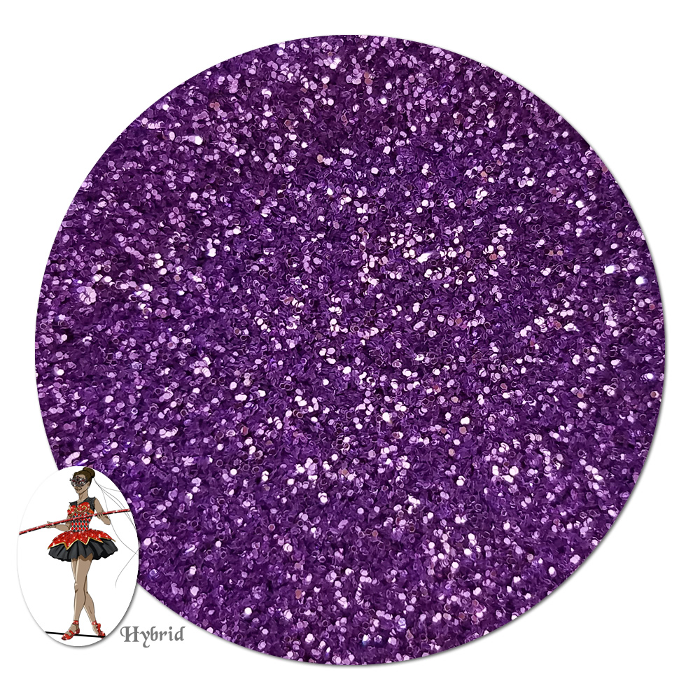 Purple Paradise Metallic Hybrid Glitter (ultra fine)- 3/4 oz Jar