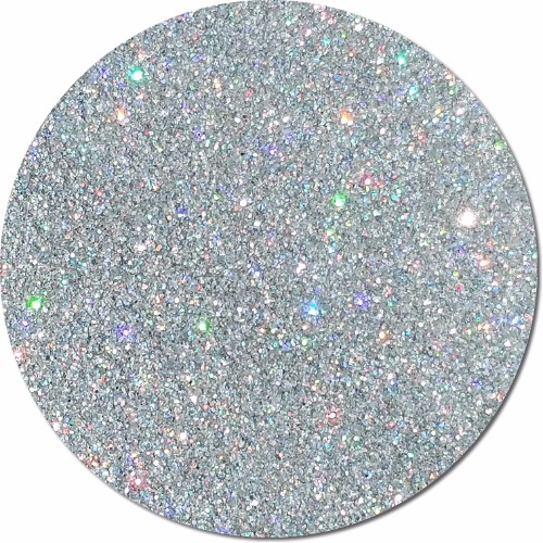 Star Struck Silver :Ultra Fine Glitter Cosmetic Holographic (jar)