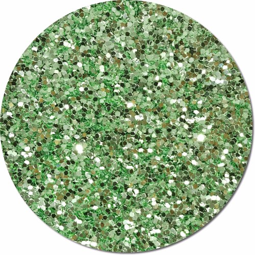 Tiana's Green Wish Craft Glitter (fat flake)- 3/4 oz Jar