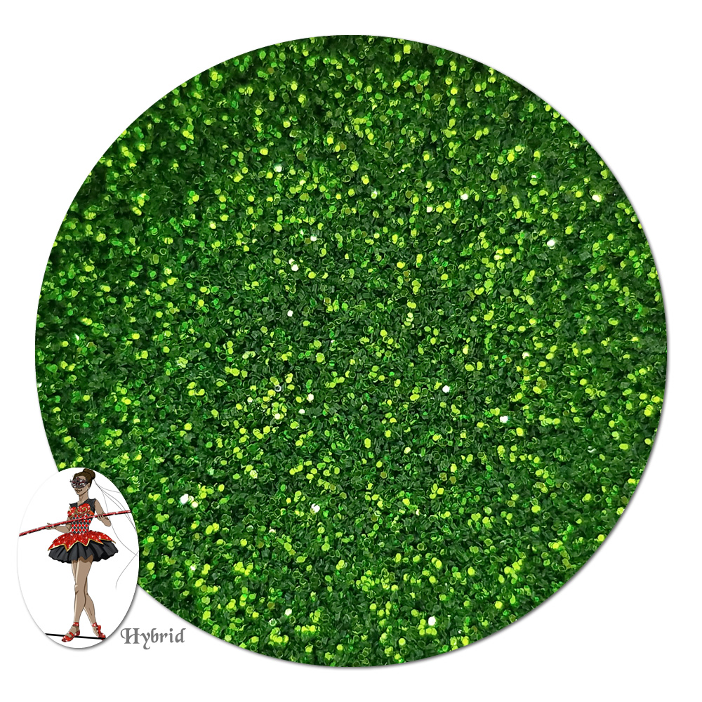Gleaming Green Metallic Hybrid Glitter (ultra fine)- By The Pound