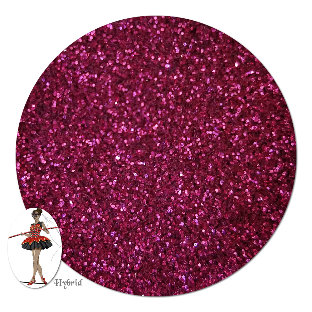Mountain Rose Metallic Hybrid Glitter (ultra fine)- 8 oz. Jar