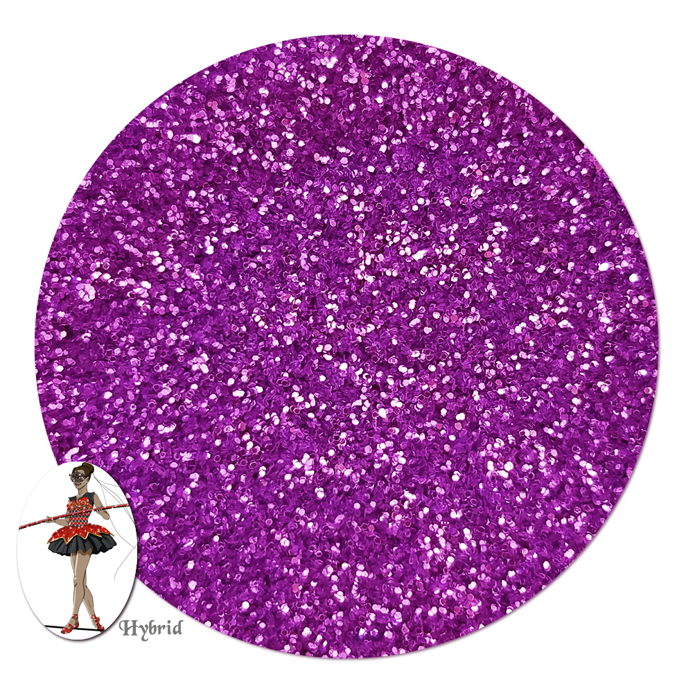 Purple Heart Metallic Hybrid Glitter (ultra fine)- 3/4 oz Jar