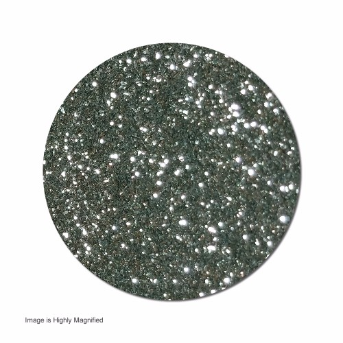 Vanity Gray :Ultra Fine Glitter Cosmetic Metallic (jar)