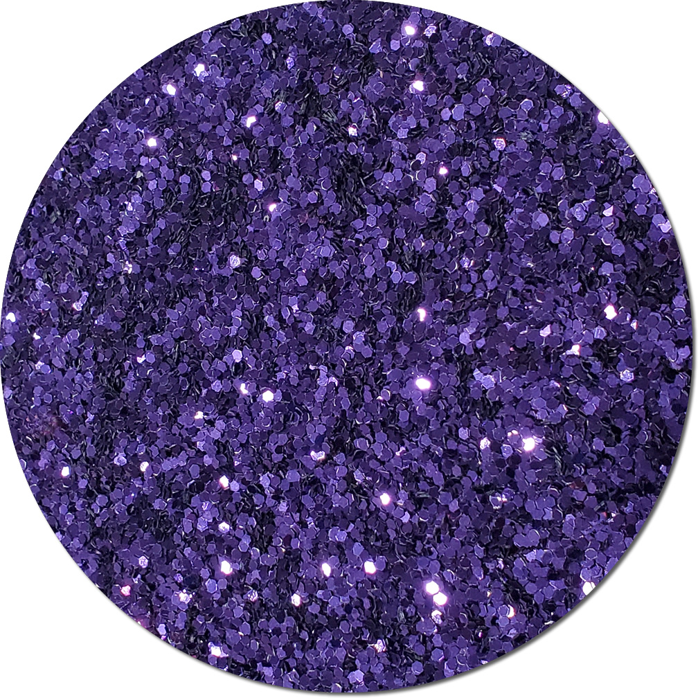 Violet Bliss Craft Glitter (Fat flake)- By The Pound