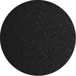 Black Shadow Craft Glitter