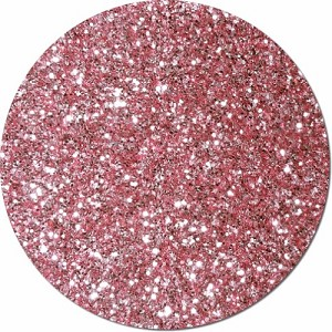 Carnation Pink Craft Glitter (chunky flake)