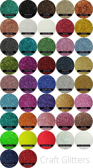 CUSTOM: Craft Glitter Mix (3 Colors)