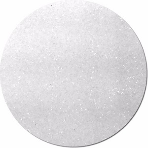Crystal Clear Craft Glitter (fine flake)- 8 oz. Jar