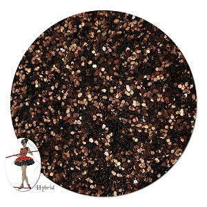 Harvest Brown Metallic Hybrid Glitter