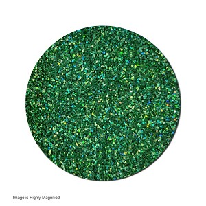 Polyester Glitter (shown highly magified)