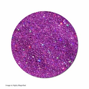 Polyester Glitter (shown highly magnified)