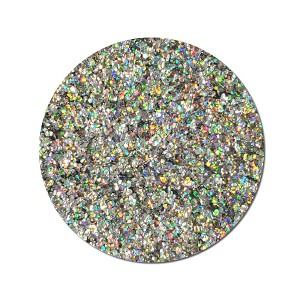 Chunky Biodegradable Silver Holographic Glitter: Magic Mirror